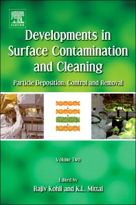 Developments in Surface Contamination and Cleaning, 1st Edition,Rajiv Kohli,Kashmiri L. Mittal,ISBN9781437778304