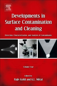 Developments in Surface Contamination and Cleaning, 1st Edition,Rajiv Kohli,Kashmiri L. Mittal,ISBN9781437778830