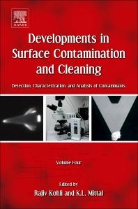 Developments in Surface Contamination and Cleaning, Volume 4, 1st Edition,Rajiv Kohli,Kashmiri L. Mittal,ISBN9781437778847