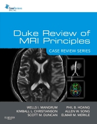 Cover image for Duke Review of MRI Principles: Case Review Series