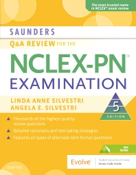 Cover image for Saunders Q & A Review for the NCLEX-PN® Examination