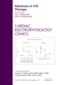 Cover image for Advances in ICD Therapy, An Issue of Cardiac Electrophysiology Clinics