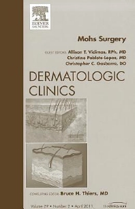 Cover image for Mohs Surgery, An Issue of Dermatologic Clinics
