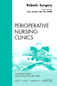 Cover image for Robotic Surgery, An Issue of Perioperative Nursing Clinics