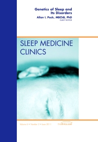 Cover image for Genetics of Sleep and Its Disorders, An Issue of Sleep Medicine Clinics