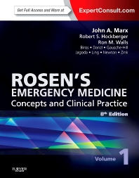 Cover image for Rosen's Emergency Medicine - Concepts and Clinical Practice, 2-Volume Set