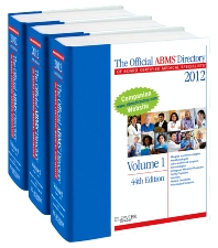 The Official ABMS Directory of Board Certified Medical Specialists 2012 - 3 Volume Set