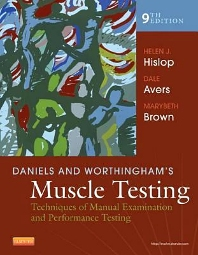 Cover image for Daniels and Worthingham's Muscle Testing