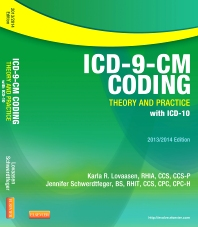 Cover image for ICD-9-CM Coding: Theory and Practice with ICD-10, 2013/2014 Edition - Elsevier eBook on VitalSource