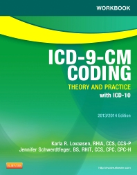 Cover image for Workbook for ICD-9-CM Coding: Theory and Practice, 2013/2014 Edition