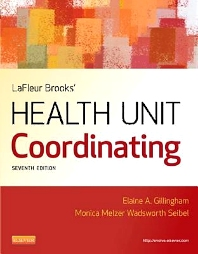 LaFleur Brooks' Health Unit Coordinating - 7th Edition - ISBN: 9781455707201, 9781455709687