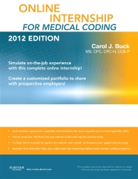 Online Internship for Medical Coding 2012 Edition (User Guide & Access Code)