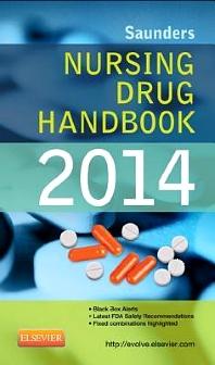 Cover image for Saunders Nursing Drug Handbook 2014