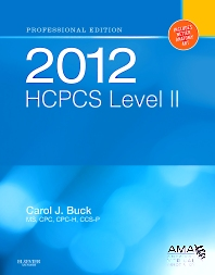 2012 HCPCS Level II Professional Edition - 1st Edition - ISBN: 9781455707706, 9781455727452