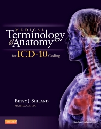 Cover image for Medical Terminology and Anatomy for ICD-10 Coding