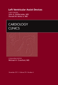 Cover image for Left Ventricular Assist Devices, An Issue of Cardiology Clinics