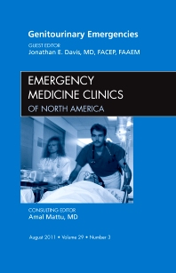 Cover image for Genitourinary Emergencies, An Issue of Emergency Medicine Clinics