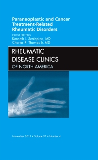Cover image for Paraneoplastic and Cancer Treatment-Related Rheumatic Disorders, An Issue of Rheumatic Disease Clinics