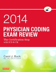 Physician Coding Exam Review 2014 - 1st Edition - ISBN: 9781455722877, 9780323239400
