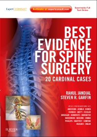 Cover image for Best Evidence for Spine Surgery E-Book
