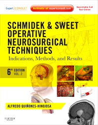 Cover image for Schmidek and Sweet: Operative Neurosurgical Techniques E-Book