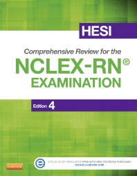 HESI Comprehensive Review for the NCLEX-RN Examination, 4th Edition,ISBN9781455727520