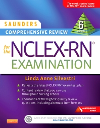Saunders Comprehensive Review for the NCLEX-RN® Examination, 6th Edition,Linda Silvestri,ISBN9781455727551