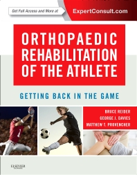 Cover image for Orthopaedic Rehabilitation of the Athlete
