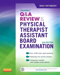 Cover image for Saunders Q&A Review for the Physical Therapist Assistant Board Examination