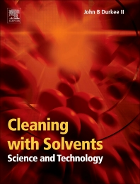 Cover image for Cleaning with Solvents: Science and Technology