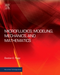 Cover image for Microfluidics: Modeling, Mechanics and Mathematics