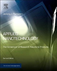 Applied Nanotechnology - 2nd Edition - ISBN: 9781455731893, 9781455731916