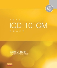 Cover image for 2012 ICD-10-CM Draft Standard Edition