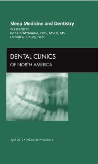 Cover image for Sleep Medicine and Dentistry, An Issue of Dental Clinics
