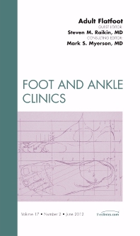 Cover image for Adult Flatfoot, An Issue of Foot and Ankle Clinics