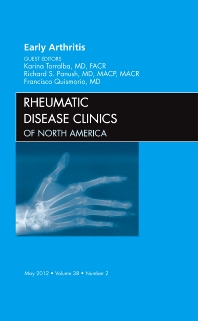 Cover image for Early Arthritis, An Issue of Rheumatic Disease Clinics