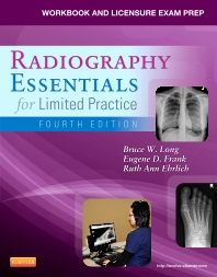 Cover image for Workbook and Licensure Exam Prep for Radiography Essentials for Limited Practice