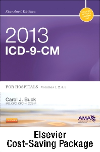 2013 ICD-9-CM for Hospitals, Volumes 1, 2 & 3 Standard Edition with 2012 HCPCS Level II Standard and CPT 2012 Standard Edition Package