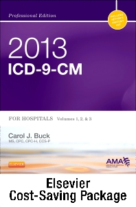 2013 ICD-9-CM for Hospitals, Volumes 1, 2, and 3 Professional Edition (Spiral bound), 2012 HCPCS Level II Professional Edition and 2012 CPT Professional Edition Package
