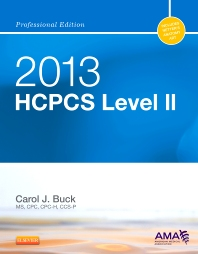 2013 HCPCS Level II Professional Edition