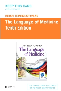 Medical Terminology Online for The Language of Medicine (Access Code) - 10th Edition