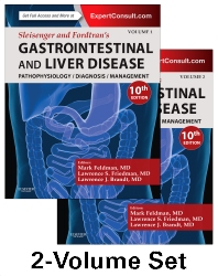 Sleisenger and Fordtran's Gastrointestinal and Liver Disease- 2 Volume Set - 10th Edition - ISBN: 9781455746927, 9781455749898