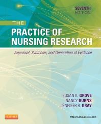 Cover image for Study Guide for The Practice of Nursing Research - Elsevier eBook on VitalSource