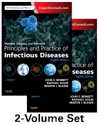 Cover image for Mandell, Douglas, and Bennett's Principles and Practice of Infectious Diseases