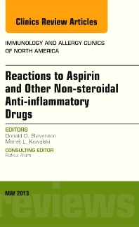 Cover image for Reactions to Aspirin and Other Non-steroidal Anti-inflammatory Drugs , An Issue of Immunology and Allergy Clinics