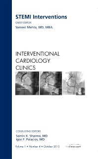 Cover image for STEMI Interventions, An issue of Interventional Cardiology Clinics