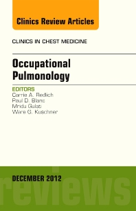 Cover image for Occupational Pulmonology, An Issue of Clinics in Chest Medicine