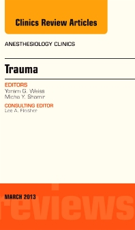 Cover image for Trauma, An Issue of Anesthesiology Clinics