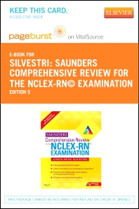 Saunders Comprehensive Review for the NCLEX-RN® Examination Elsevier Plus Evolve Access Code (Retail Access Cards)