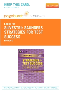 Saunders Strategies for Test Success - Elsevier eBook on VitalSource + Evolve Access (Retail Access Cards)